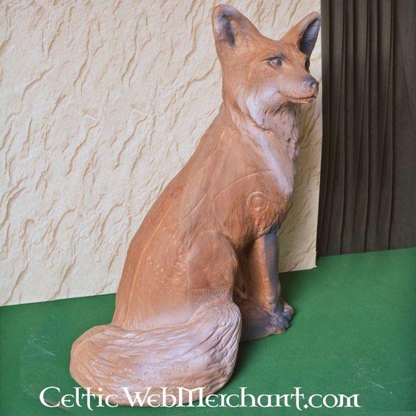 3D naturalnej wielkości lisa