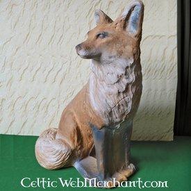 3D naturlig storlek räv