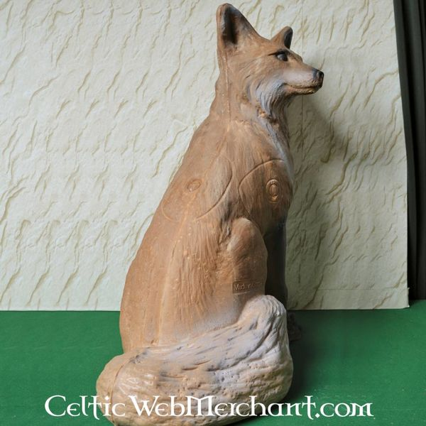 3D lebensgroßer Fuchs