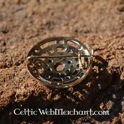 Bronze Viking Brosche