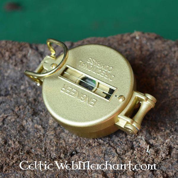 kompas armii z metalową zewnętrzną