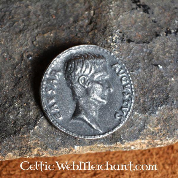 Roman coin Caesar Augustus