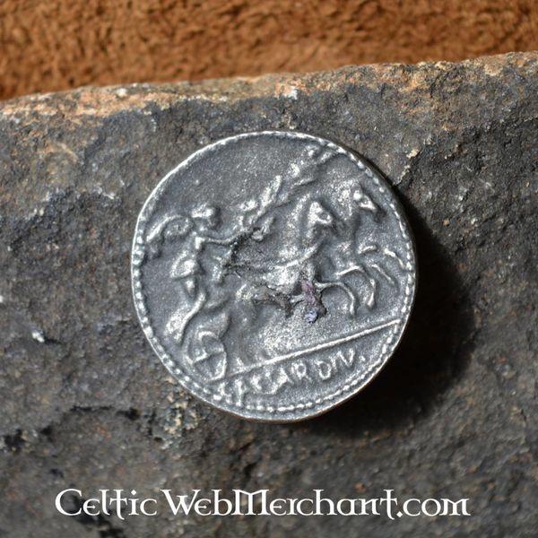Romerska mynt Augustus Caesar