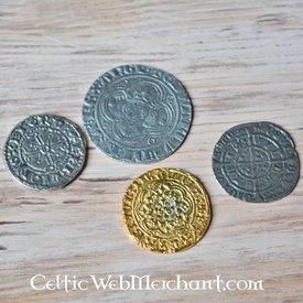 Medeltida engelska mynt