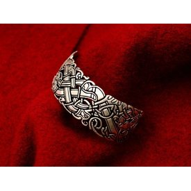Celtic bracelet with Ancient Irish motifs
