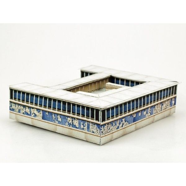 kit de construção do modelo Pergamon
