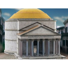 Modelo de construção kit Pantheon