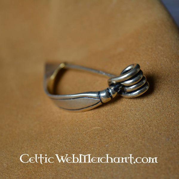 Celtic fibula 200- 000-talet f.Kr ..