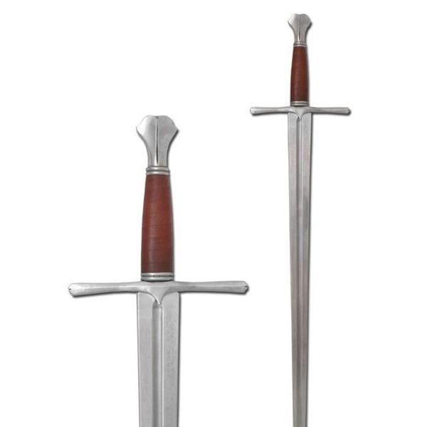 Armour Class Medieval sword with fish tail pommel (in stock)