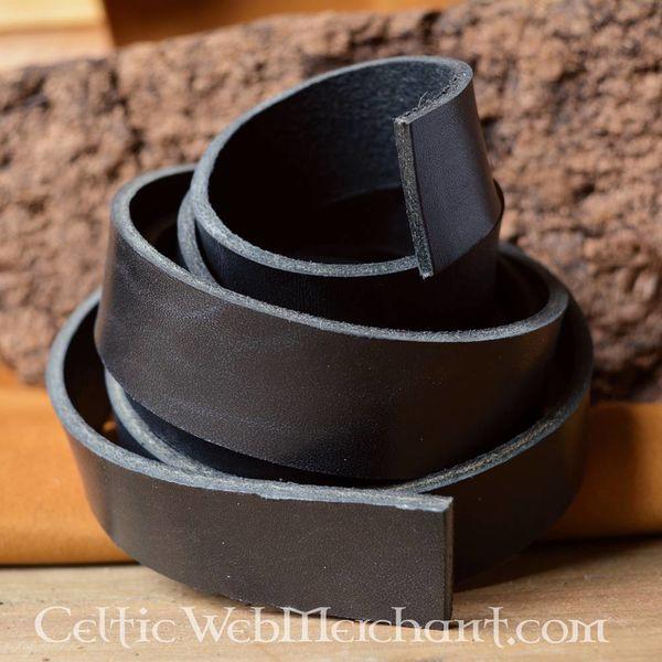 Leather belt 20 mm / 140 cm