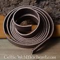 tira de la correa de cuero, 30 mm / 180-190 cm marrón