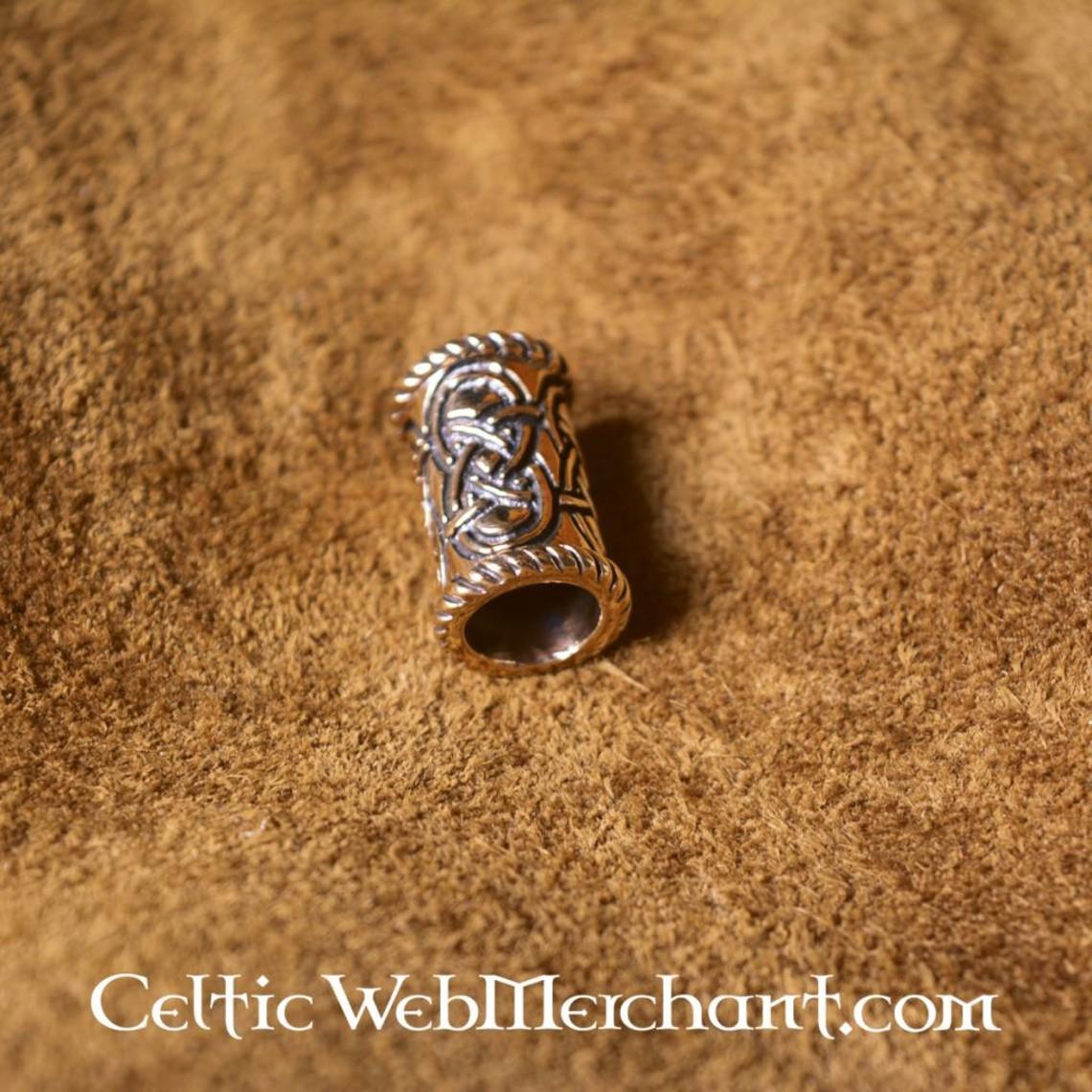 Largo de bronce beardbead Celtic
