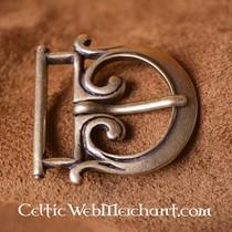 Late classical belt buckle
