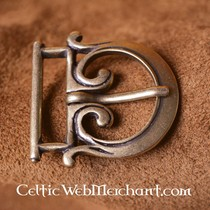 Ręcznie kuta Celtic belthook