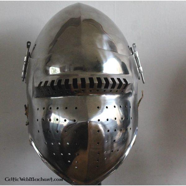 Marshal Historical Bascinet do século XV, 2 mm