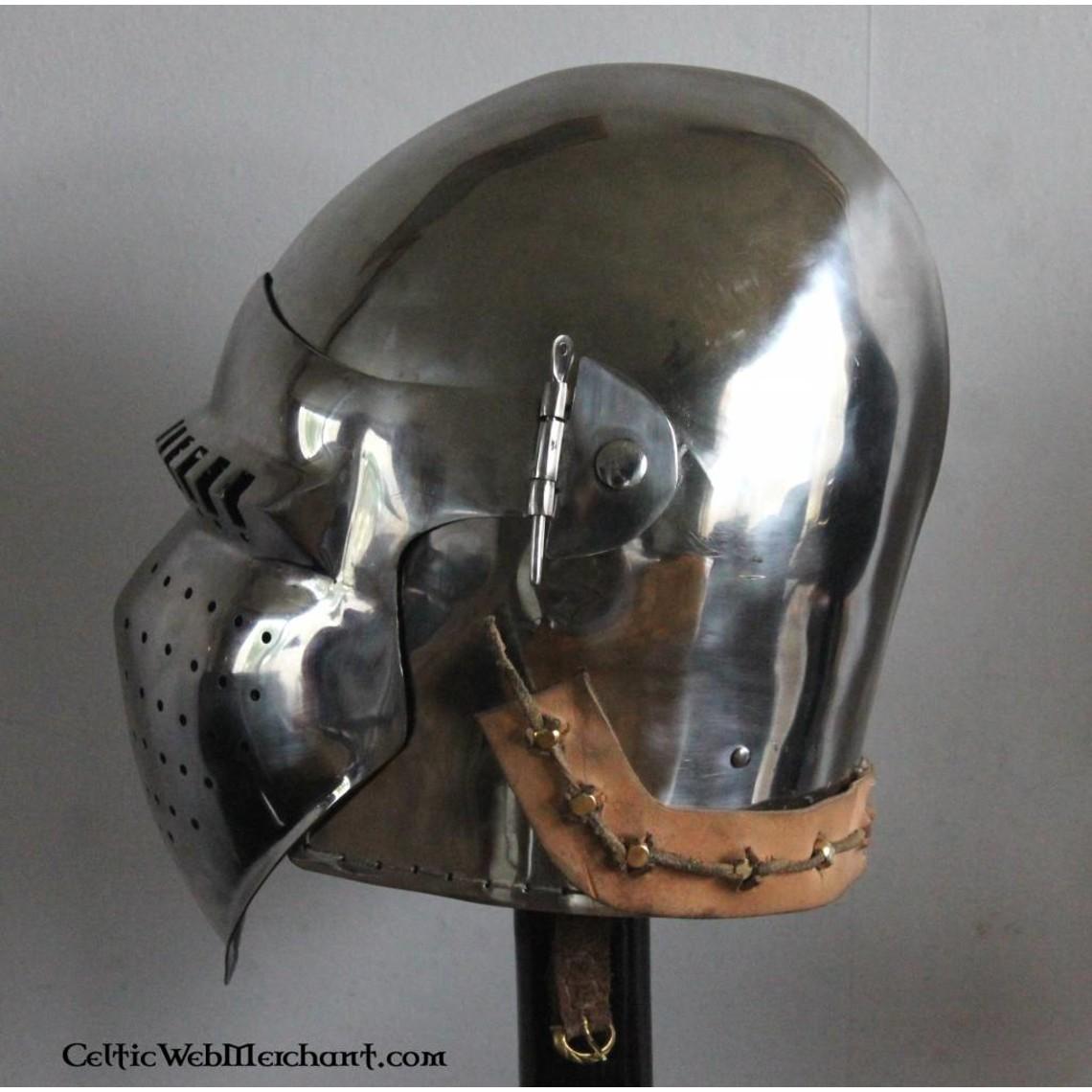 Marshal Historical 15. Jahrhundert Bascinet, 2 mm