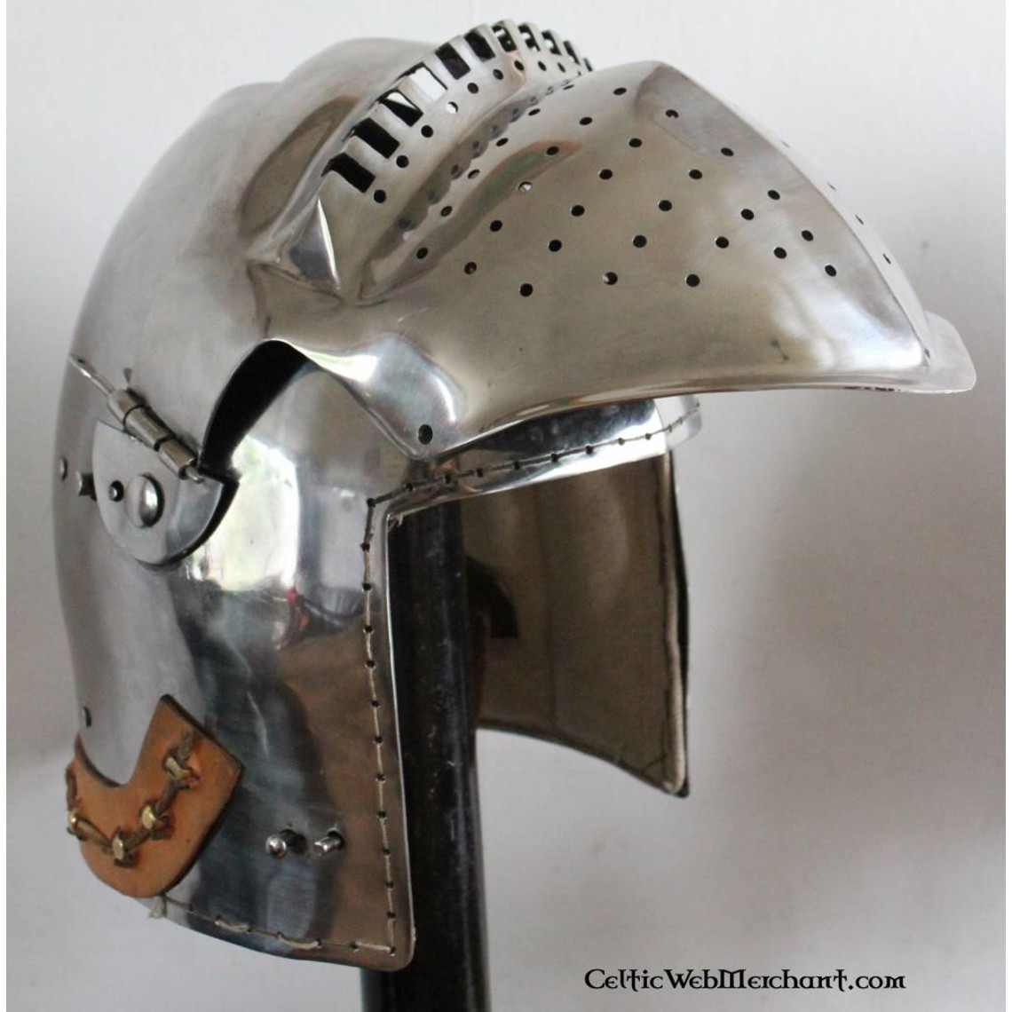 Marshal Historical Bascinet del siglo XV, 2 mm
