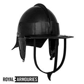 Royal Armouries Burgunderhjelm britiske borgerkrig