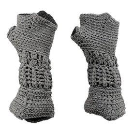 Stickade riddare handskar