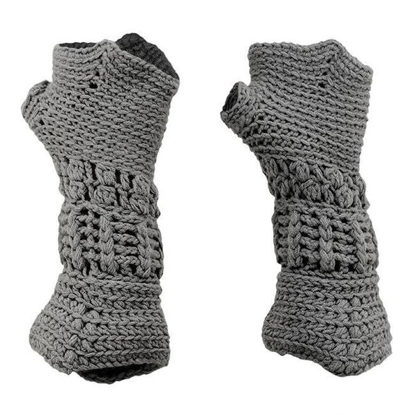 Gestrickte Handschuhe Ritter