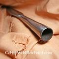 Testa di lancia medievale primeva, 28,5 cm
