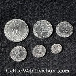 Elizabeth I six coin set