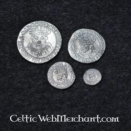 Henryk VIII. zestaw czterech monet
