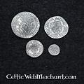 Cuatro Coin Set Enrique VIII de Inglaterra