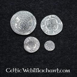 Heinrich der Achte. Vier Münzensatz