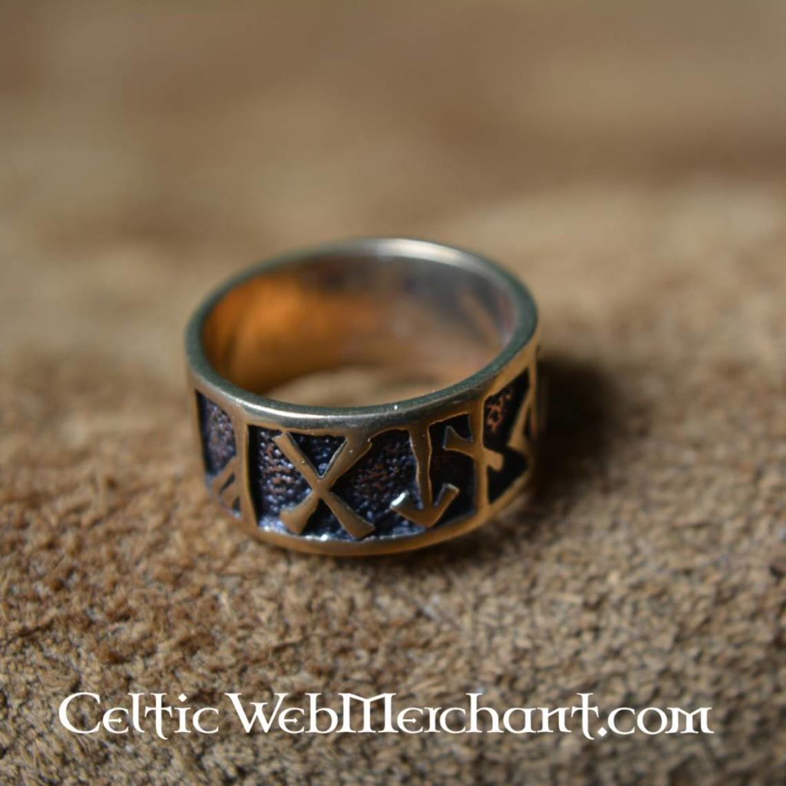 Rune Ring, brąz
