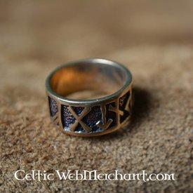 Rune Ring, brons