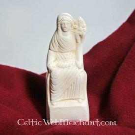 Romersk offerfund statue sidder Fortuna
