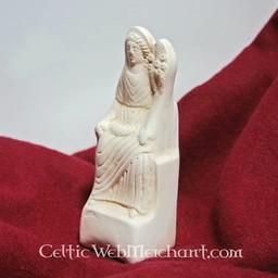 Roman posąg wotywna siedzi Fortuna