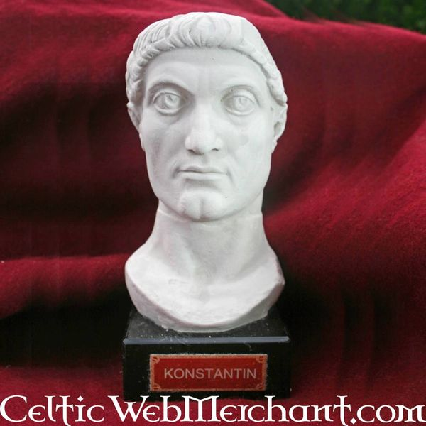 Bust emperor Constantine the Great