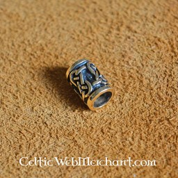 Traditionelle keltische Bart Perle Bronze