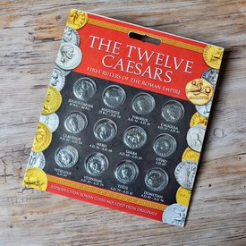 paquete de la moneda romana denarii