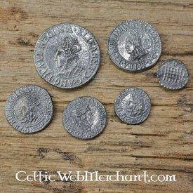 Elizabeth i seks mønt sæt