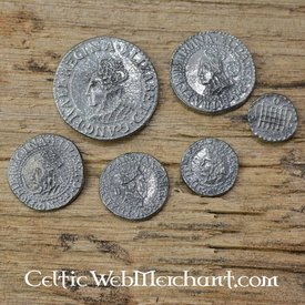 Elizabeth I six coin set