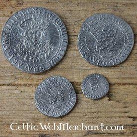 Henrik VIII. Fire møntsæt