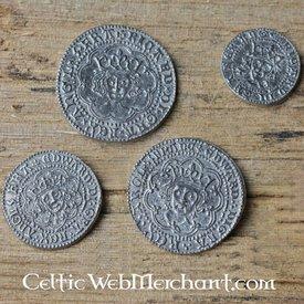 Coin satt Richard III Edward IV