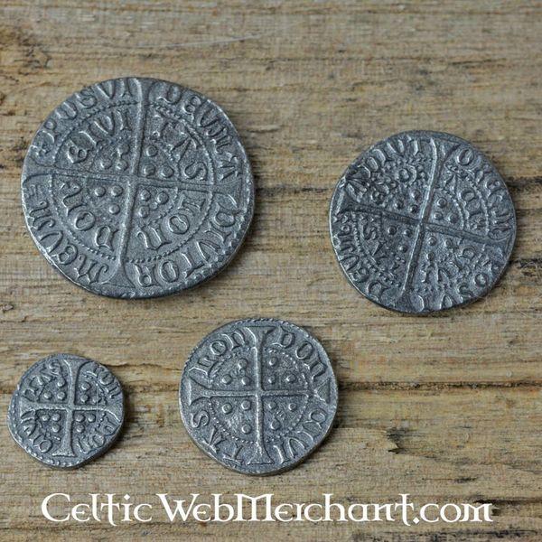 Møntsæt Richard III Edward IV