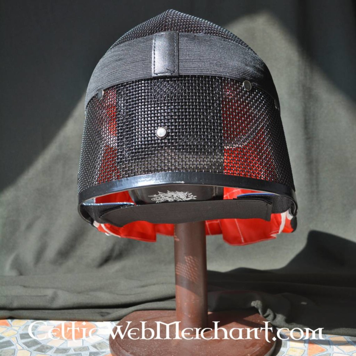 Red dragon Fencing mask L