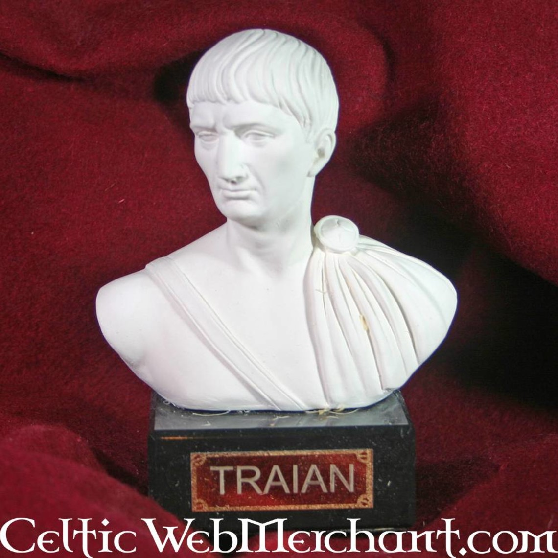 Buste keizer Trajanus