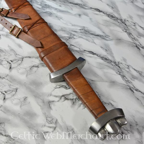 Deepeeka Miecz Wikingów Godfred, gotowy do walki