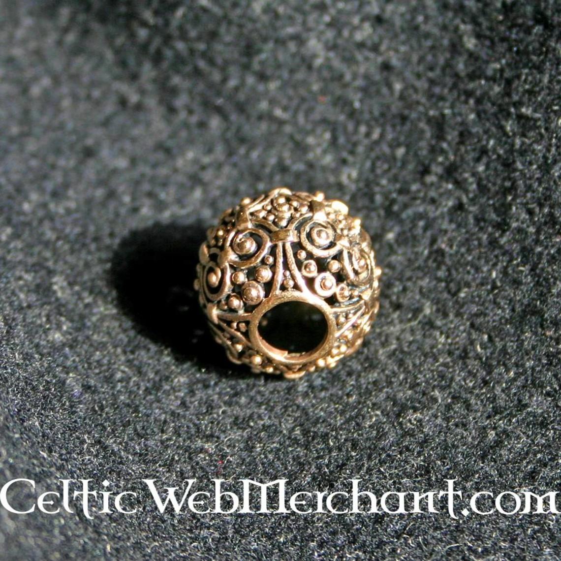 Perle décorative, en bronze