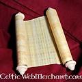 Papyrusrolle 100 x 30 cm