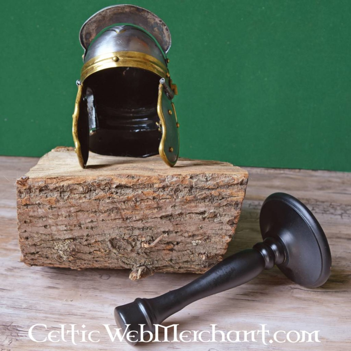 Deepeeka Miniatura de casco de legionario