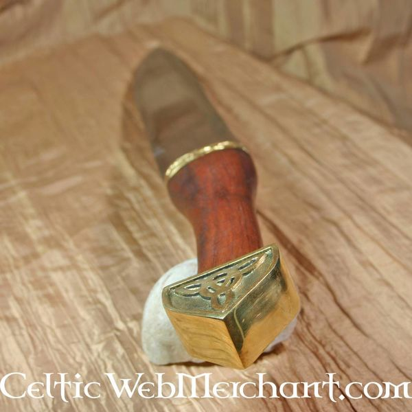 Deepeeka Triquetra Saks z drewnianą rączką