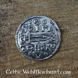 Viking moeda Jorvik moeda de prata