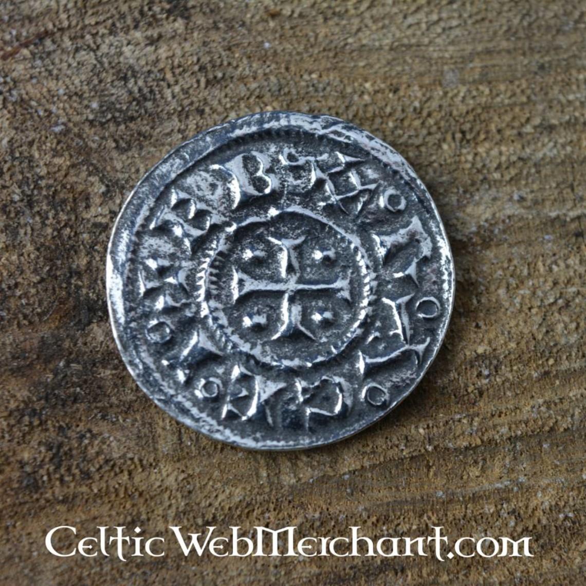 Jorvik Viking médaille pièce d'argent